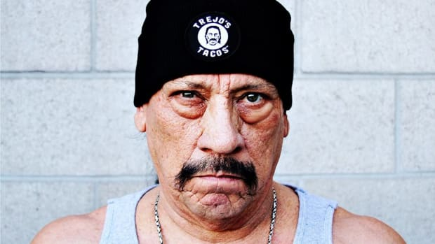 Danny Trejo is serving up vegan tacos.