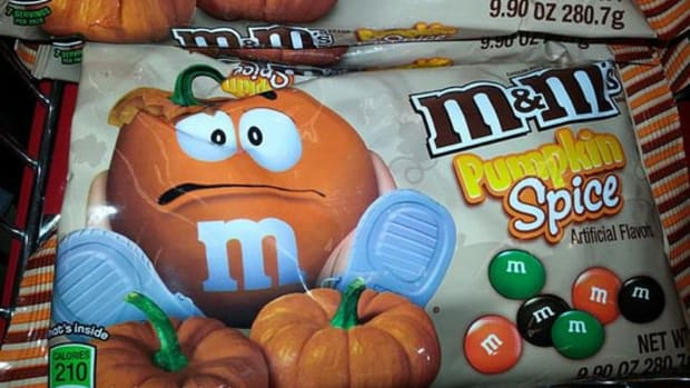 pumpkin spice m&ms