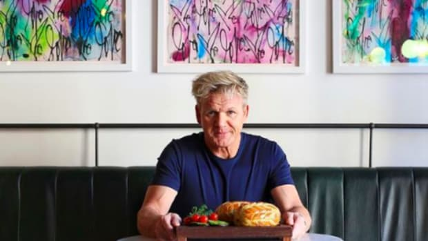It's True: Gordon Ramsay Participated in a Vegan Cook-Off