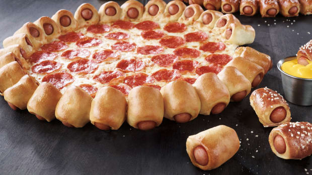 Pizza Hut's Hot Dog Pizza Will Make You Want to Crawl In a Cave for 1,000 Years [Video]