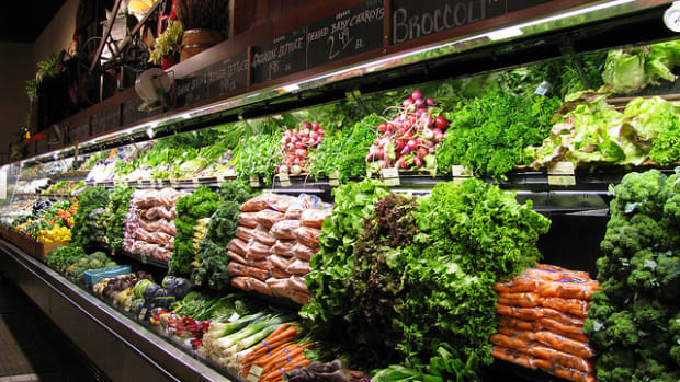 Store with produce
