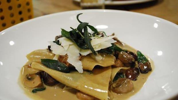 mushroom-pasta
