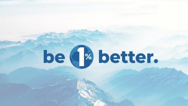 be 1% better