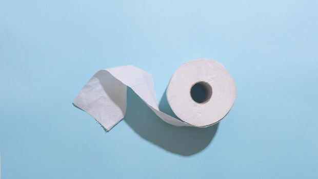 roll of toliet paper