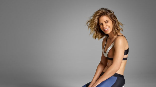 Jillian Michaels in workout gear