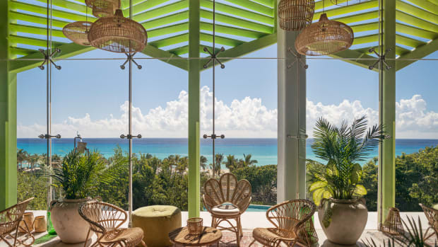 wellness vacation in mexico at the Palmaia House of AIA