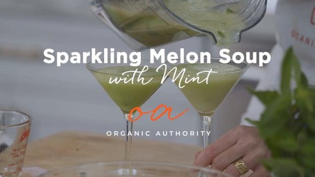 Sparkling Melon Soup - YouTube