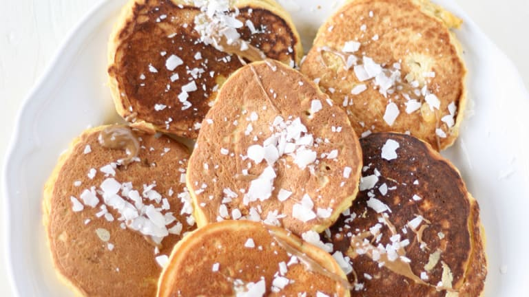 Perfect Paleo Protein Pancakes with Coconut Flour and Cinnamon
