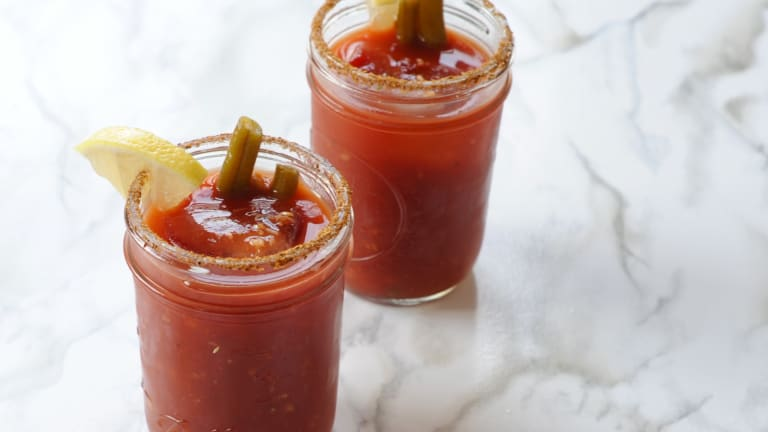 This Bloody Mary with Witches Fingers Is the Perfect Halloween Cocktail Treat