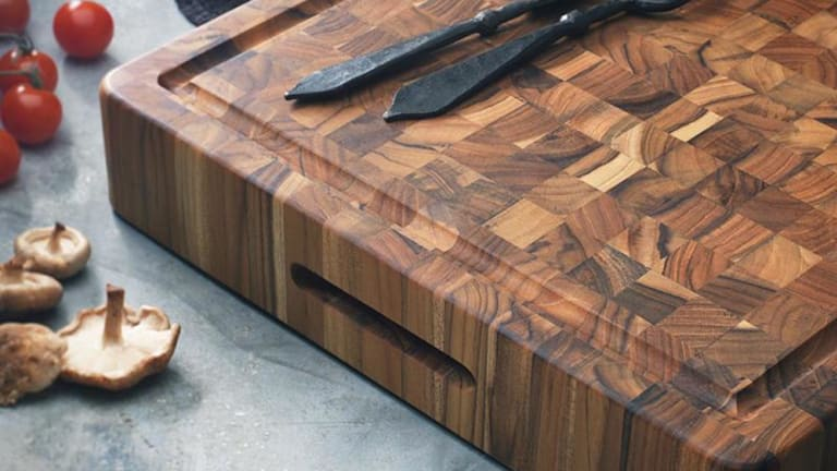 5 Beautifully Sustainable End-Grain Wood Cutting Boards
