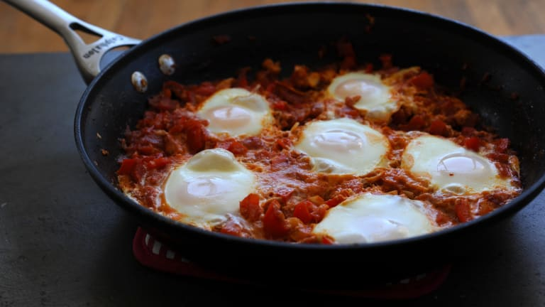A Unique Poached Egg Recipe: Middle Eastern Shakshuka