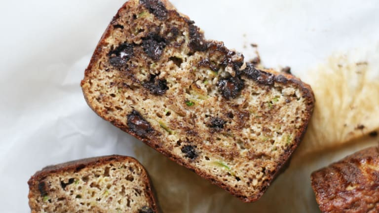 Paleo, Protein-Packed, and Gluten-Free Chocolate Chip Zucchini Bread