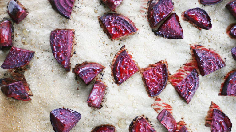 How to Make Beautiful Roasted Beets