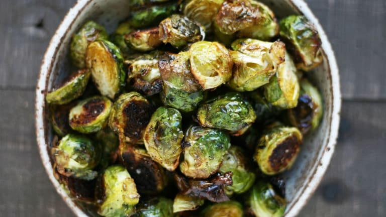 The Crispy, Perfect Ghee-Roasted Brussels Sprouts You Need on Your Table