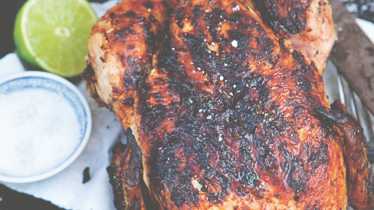 Whole Grilled Chipotle Chicken Recipe