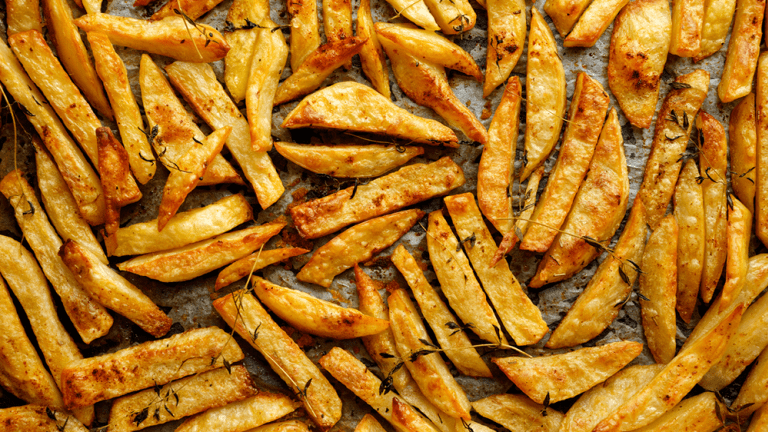 How to Make Oven Roasted French Fries