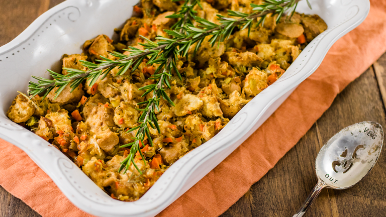 Gluten-Free Stuffing Perfected: It's About Time!