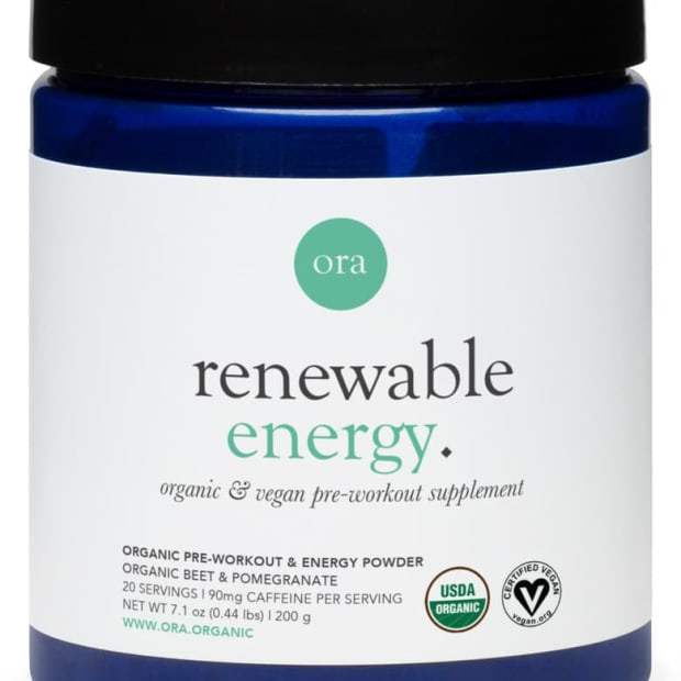 Ora Organic Workout Supplement