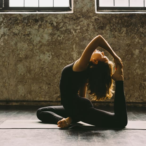 The link between tight hips and your emotions pigeon pose yoga