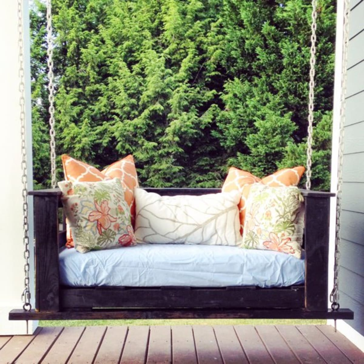 Picture of: 13 Diy Garden Swing Ideas For Grownups Organic Authority