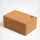 This high-quality yoga block is made from sustainable cork. Firmer than most foam blocks, it is incredibly supportive and a helpful tool to help you master yoga poses that are good for body and mind.Buy it now.