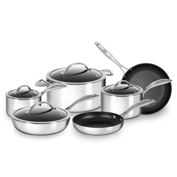 NEW COMMERCIAL STAINLESS STEEL SAUTE PAN 7 QT
