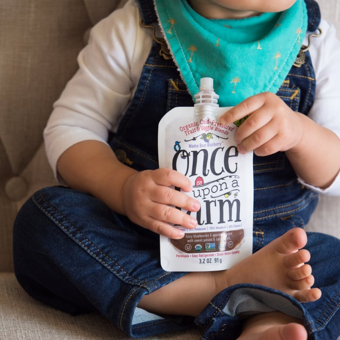Once Upon a Farm Gives Parents the Best in Organic Baby