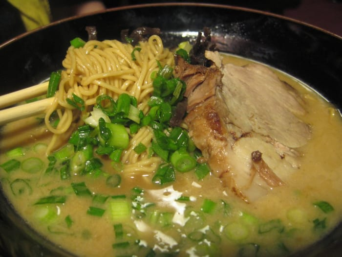 easy gourmet ramen recipe with roasted chicken and kale