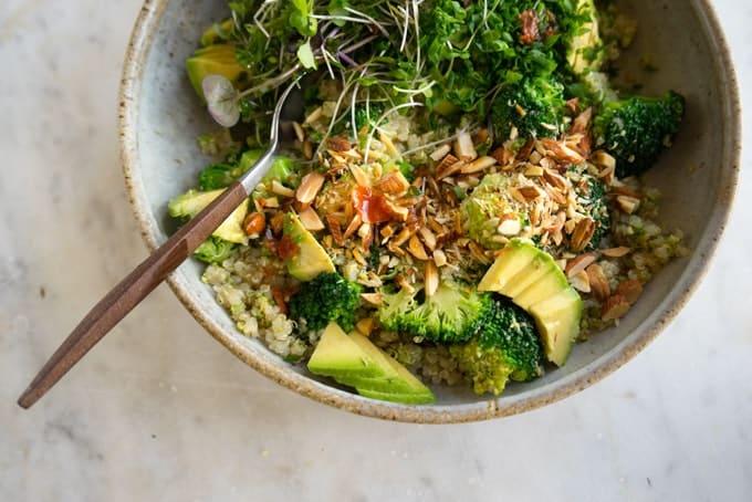 Broccoli Buddha bowl