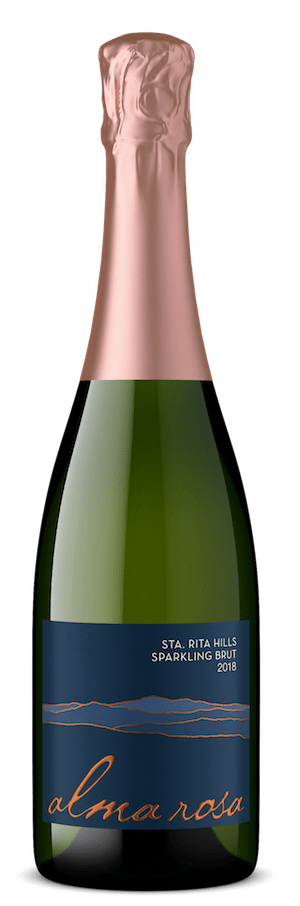 Sparkling wine made from organic grapes