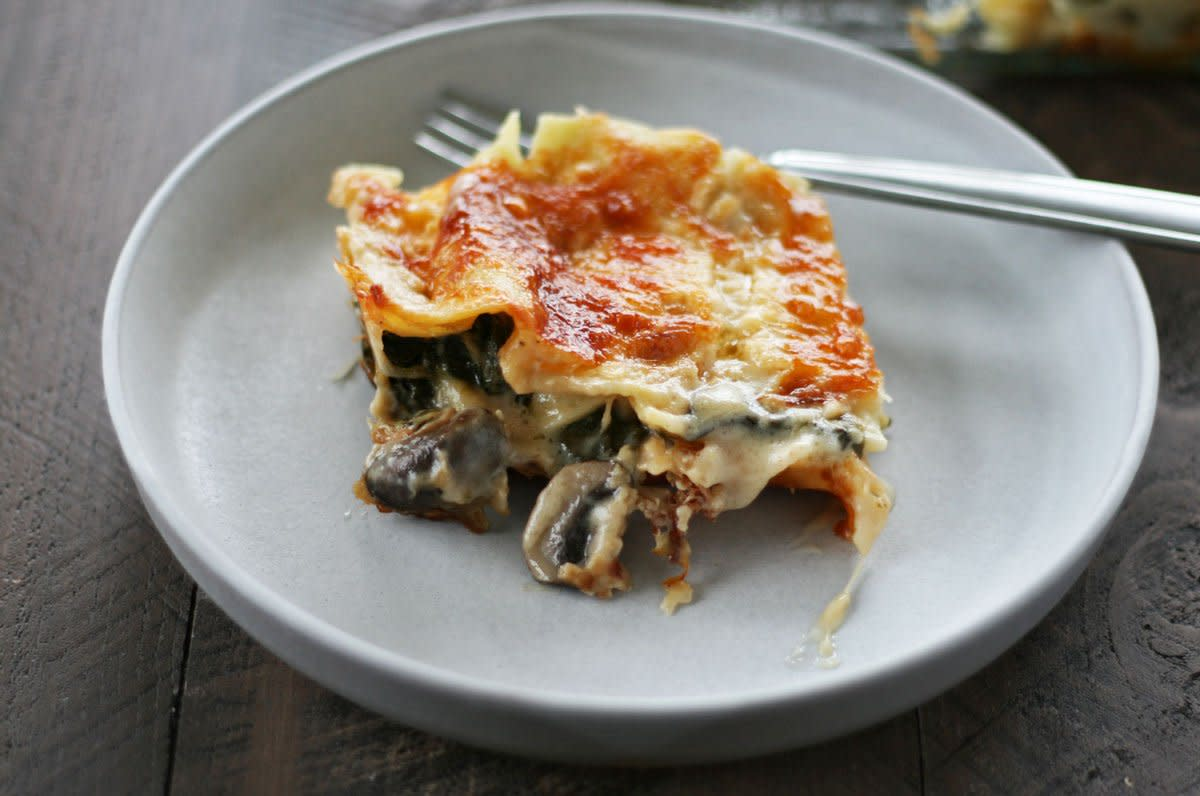 vegetarian lasagna recipe