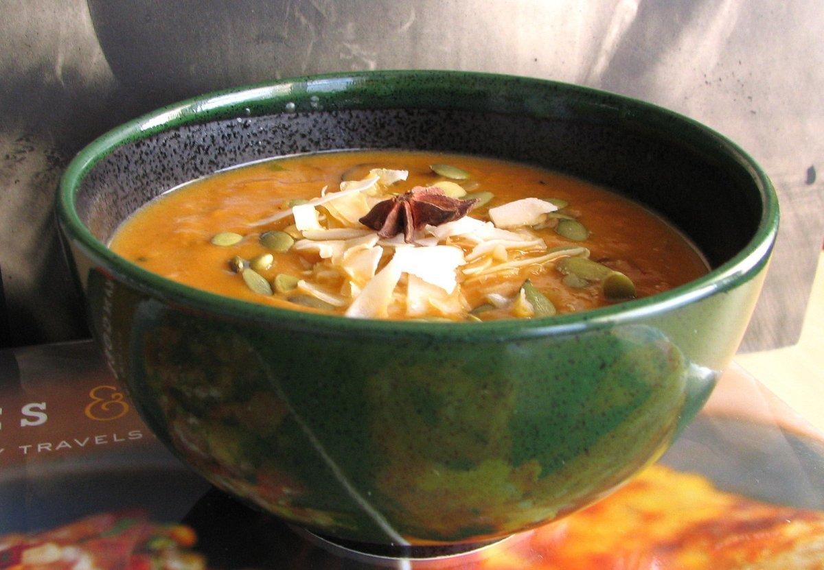 Vegan Thai Curry with Kabocha Squash and Coconut Recipe