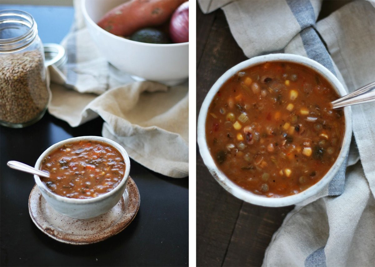 lentil crockpot soup