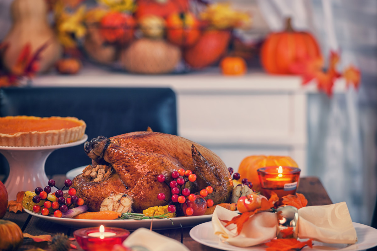 Maple and Orange Glazed Roasted Turkey Recipe