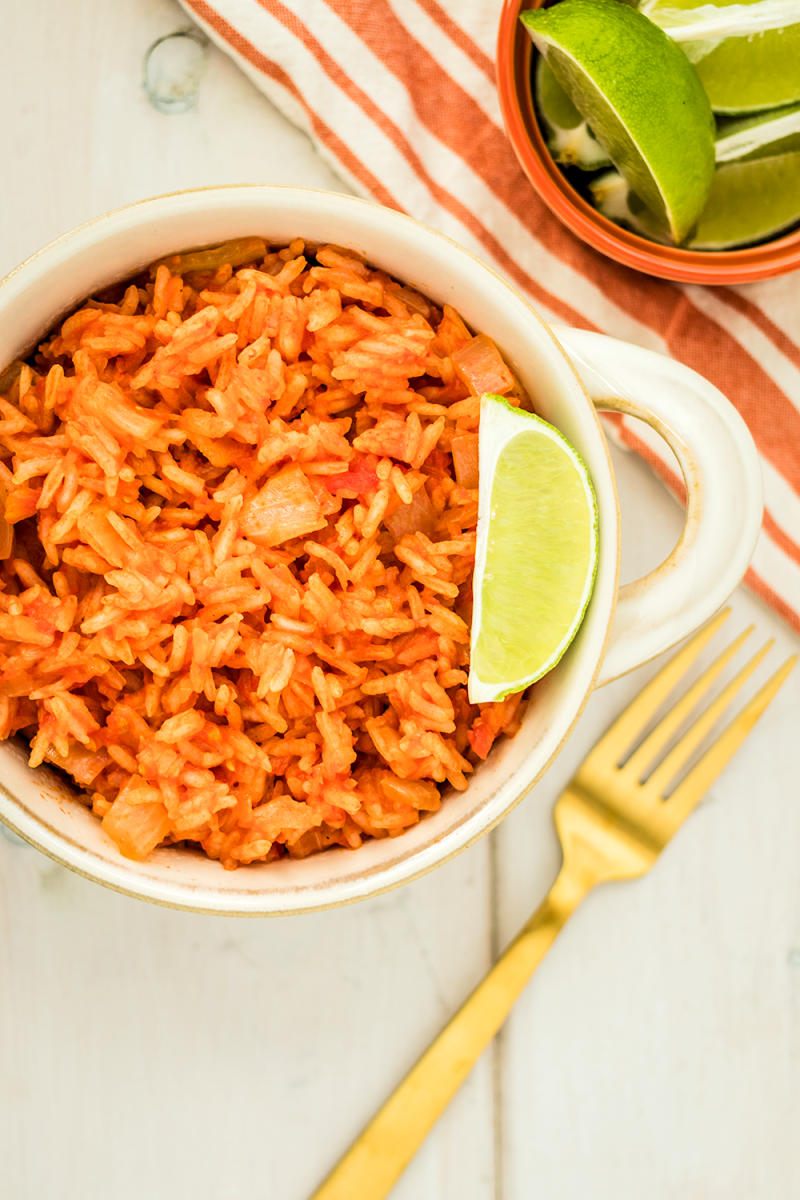 Vegan Mexican Rice Recipe