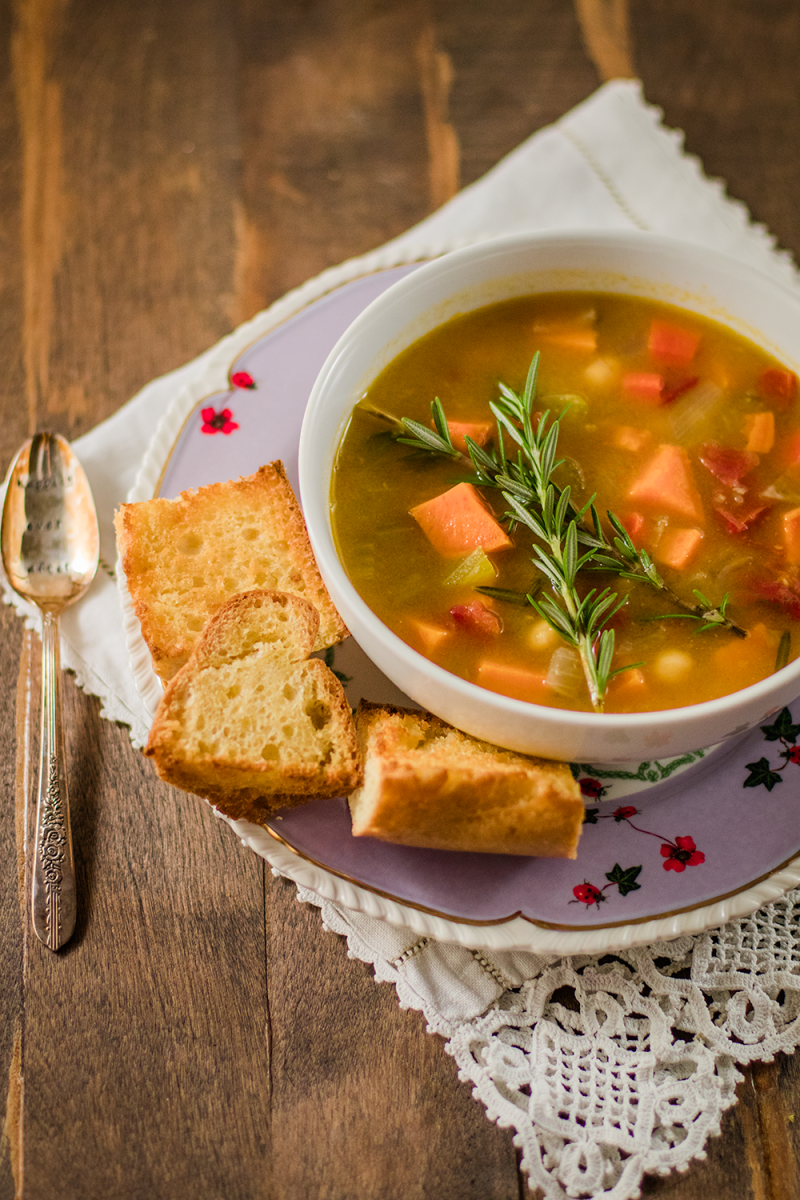 Hearty Vegan Soup Recipe For Fall