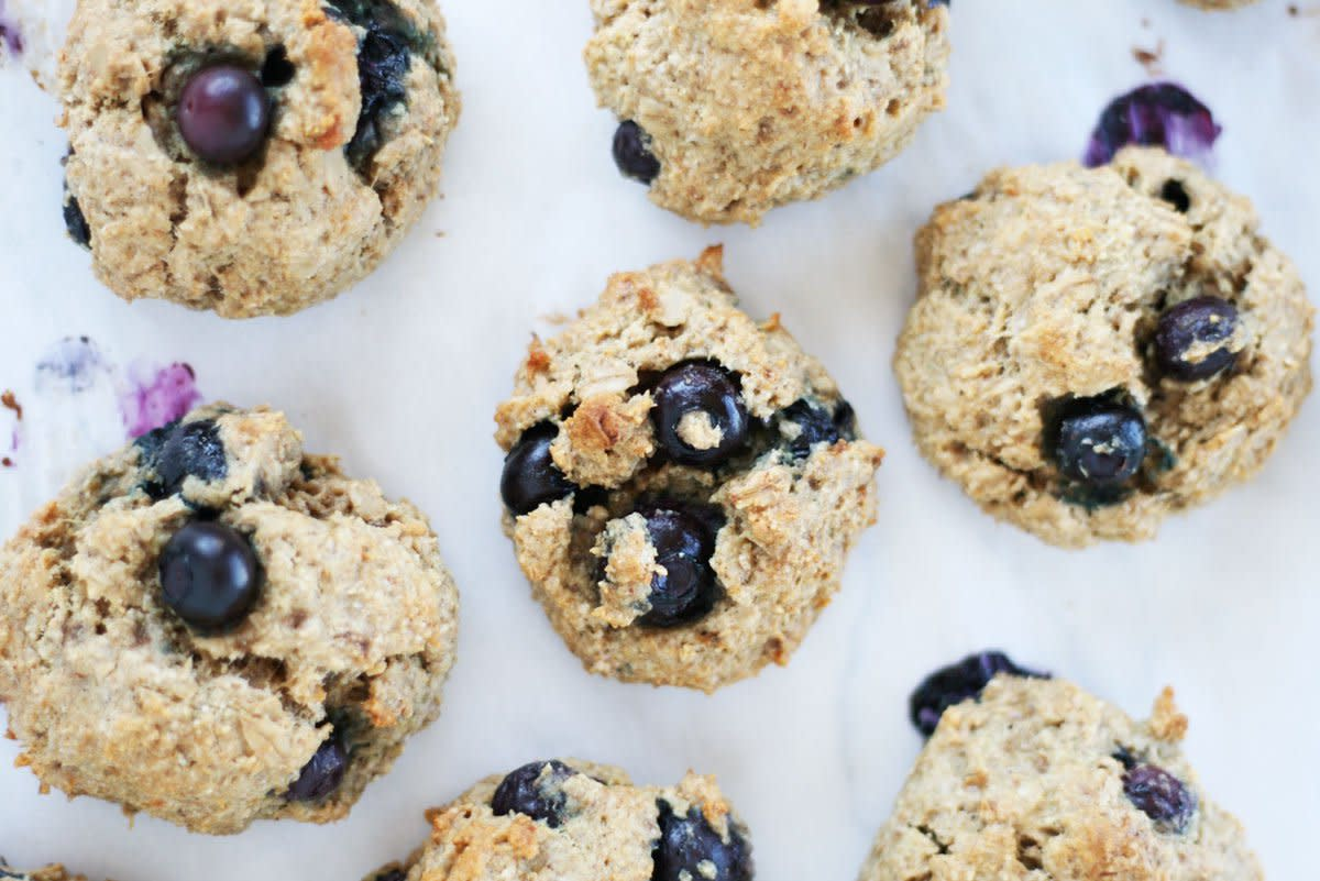 blueberry breakfast cookies