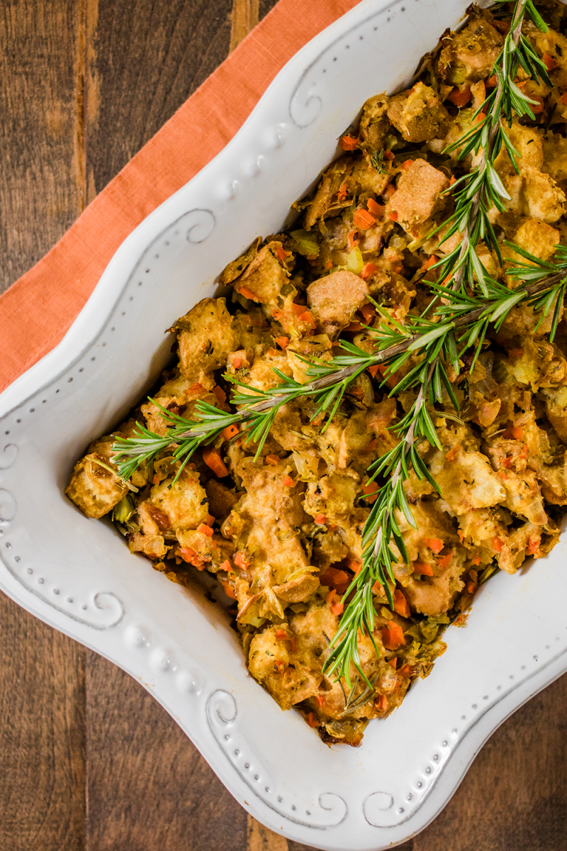 Finally! A Perfect Vegan Gluten-Free Stuffing Recipe