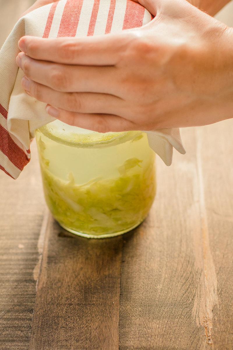 How To Make Sauerkraut In A Jar
