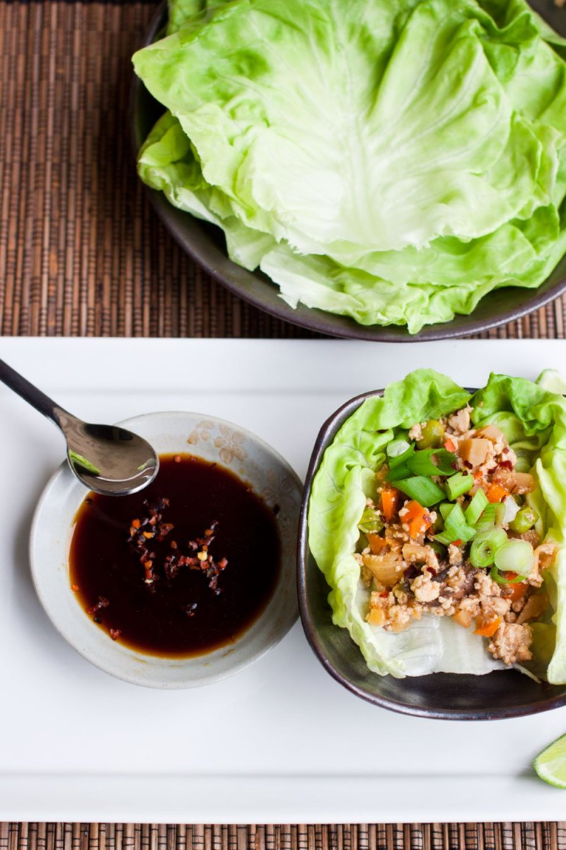 Vegan Lettuce Cups with Tofu Recipe