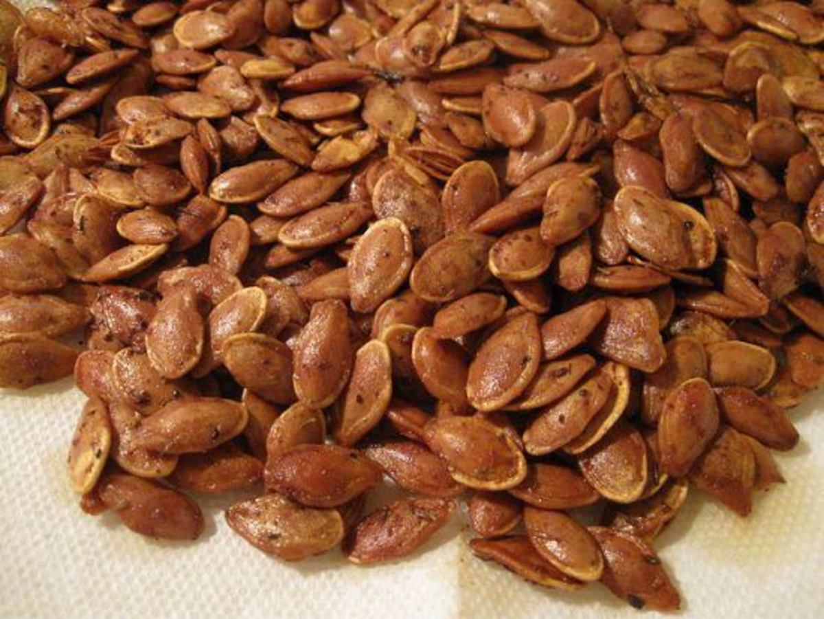 pumpkin seeds are a natural aphrodisiac food