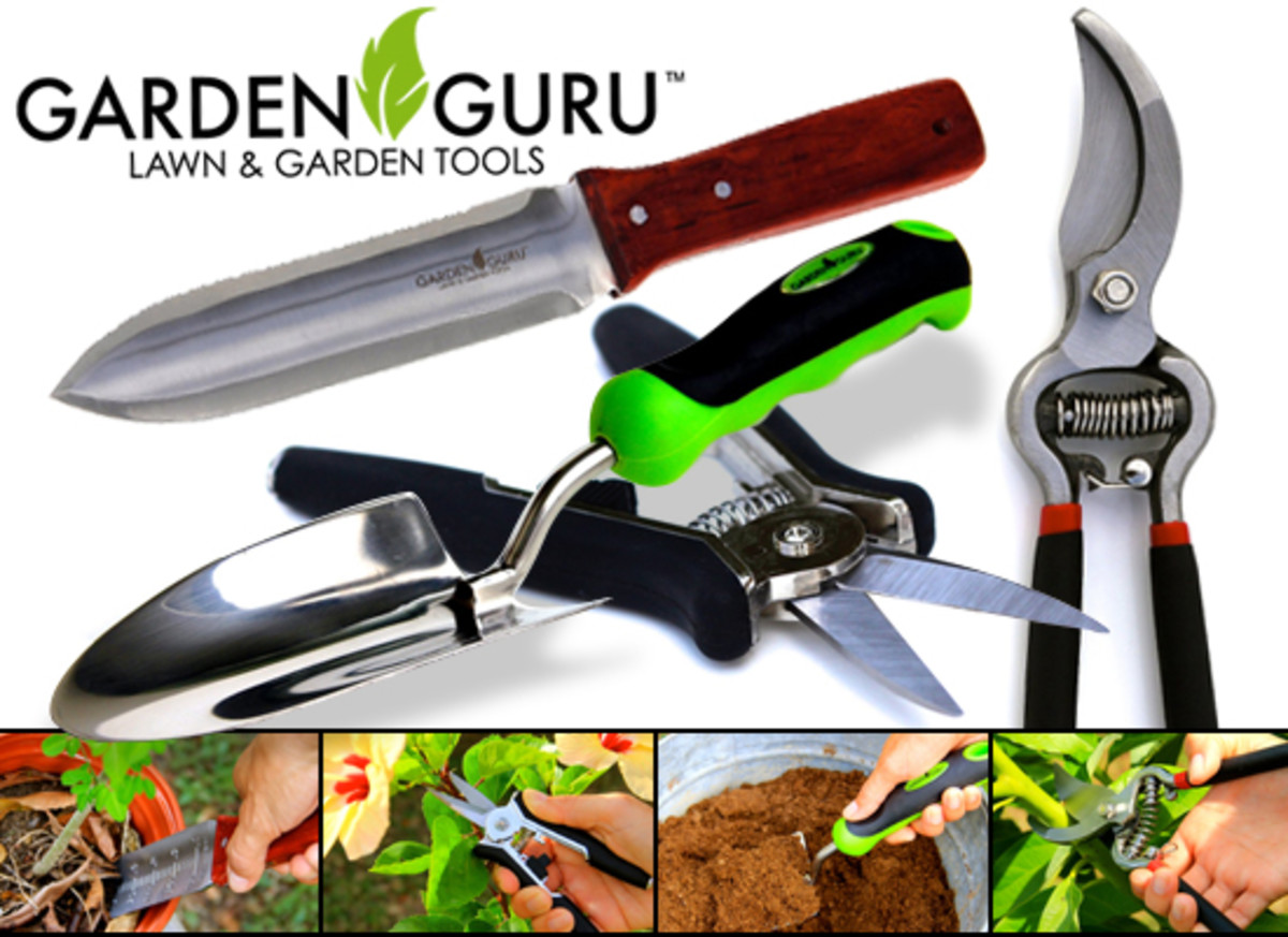 Garden Guru Lawn and Garden Tools