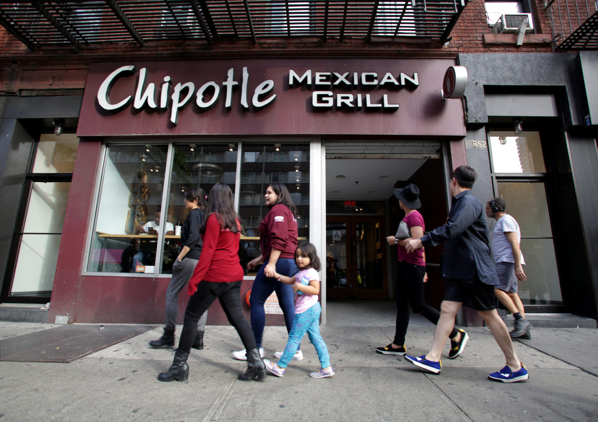 Chipotle Mexican Grill Restaurant