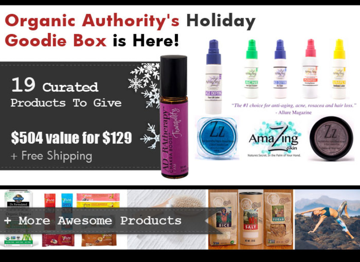 Organic Authority 2015 Holiday Goodie Box