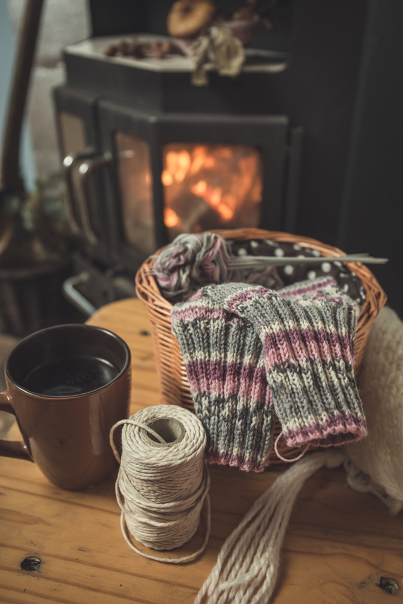 Blissfully Warm and Cozy Knitting Projects for Cold Winter Nights