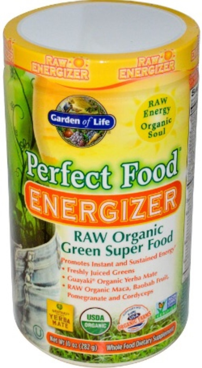 perfect food raw energy