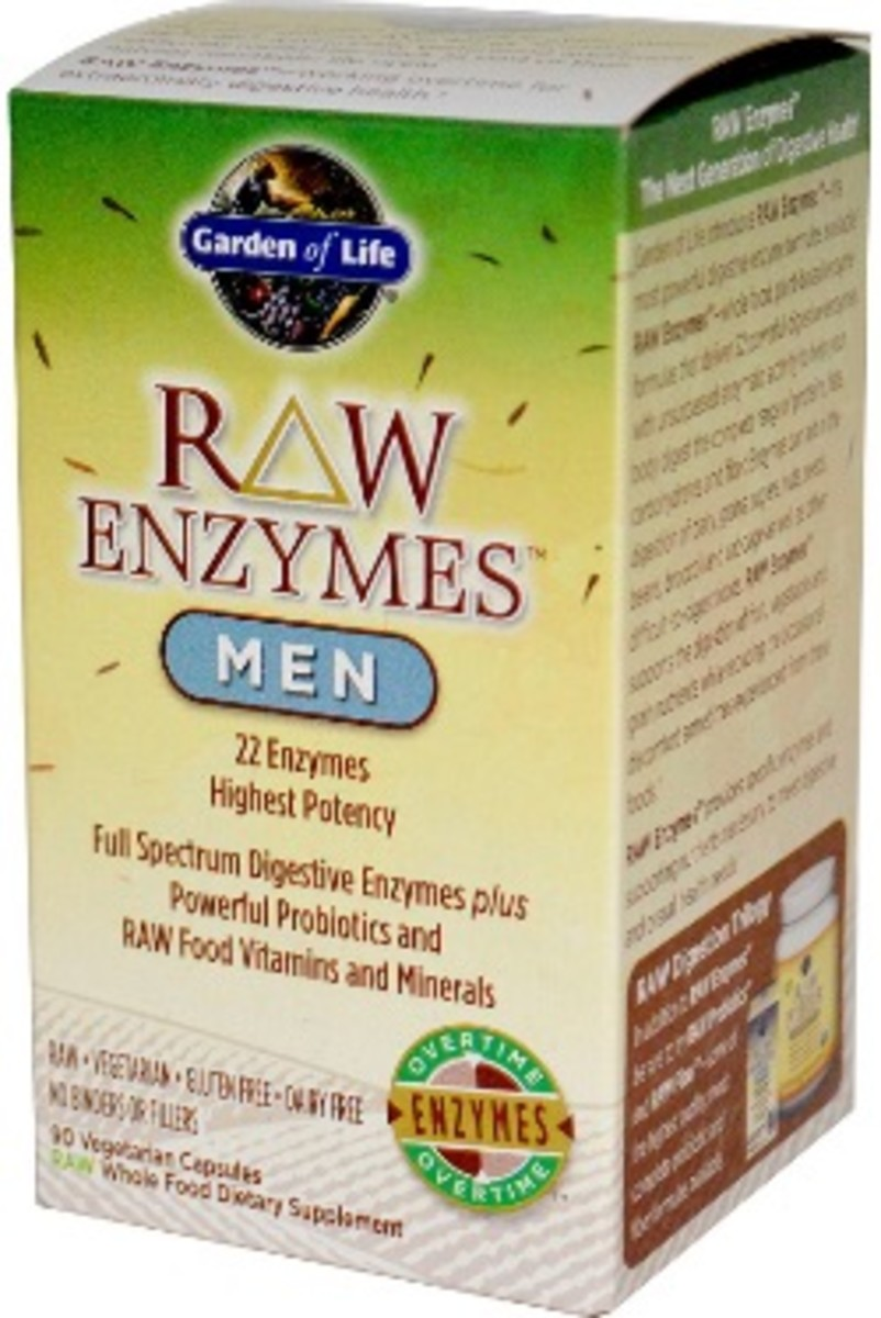 raw enzymes for men
