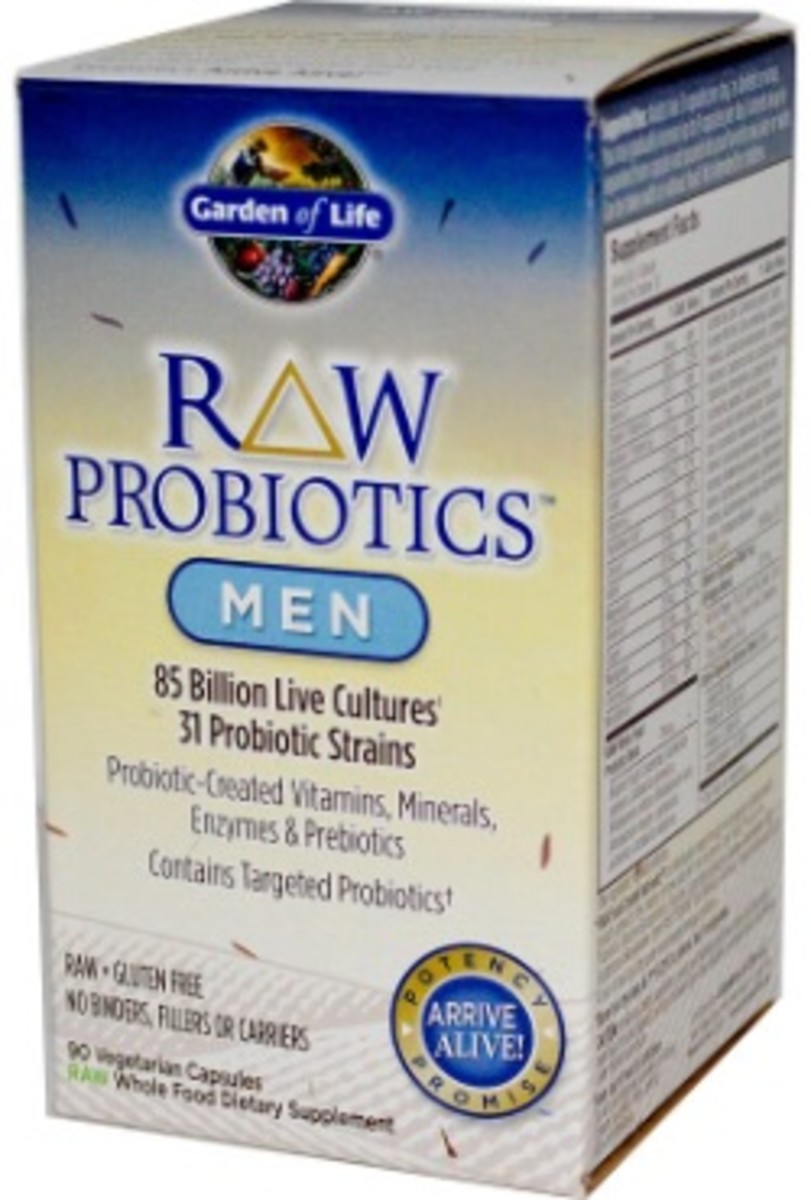 raw probiotics for men