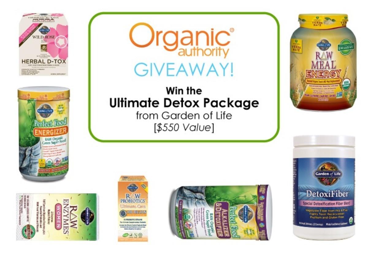 Garden of Life giveaway