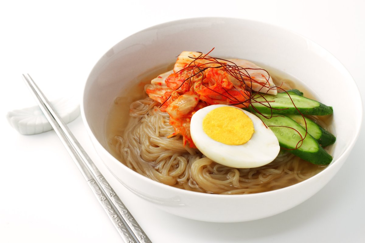 korean cold noodles